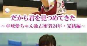 [日语中字]人物传记纪录片:《福原爱:镜头下的四分之一个世纪》 高清720P下载