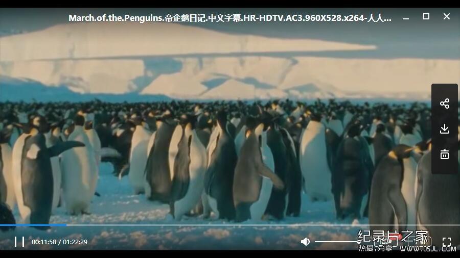 [法语中字]动物世界纪录片:帝企鹅日记 La marche de l'empereur (2005)全1集下载图片 No.2