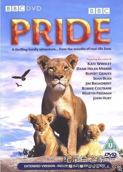 [英语中字]动物世界纪录片:狮路历程 Pride (2004)全1集图片