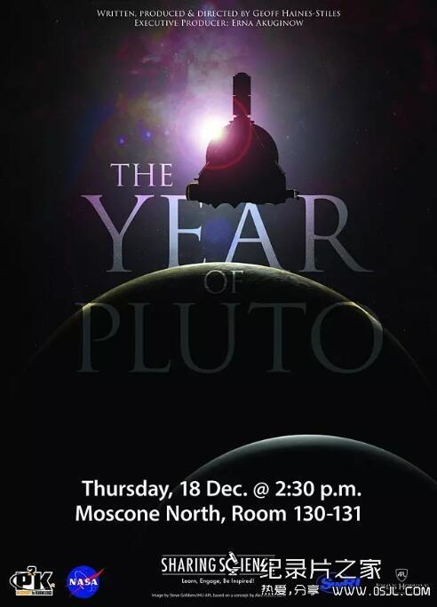 [英语中英字幕]宇宙探秘纪录片:冥王星之年-新视野号纪录片 The Year of Pluto (2015) 全1集 超清图片 No.1