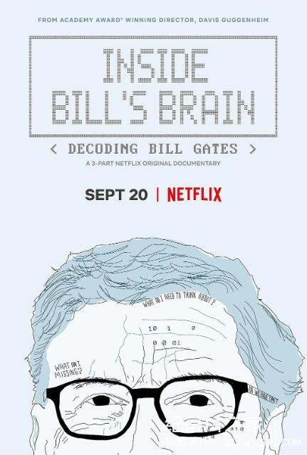 【英语中英字幕】netflix人物传记纪录片-走进比尔:解码比尔·盖茨 Inside Bill's Brain: Decoding Bill Gates (2019) 全3集图片 No.1