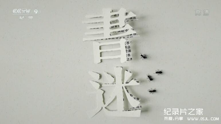 [国语中字]央视小清新文艺纪录片:书迷【4集1080P】图片 No.1