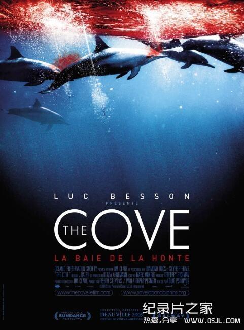 【英语中字】豆瓣高评分纪录片(Top250之62):海豚湾 The Cove (2009)图片